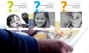 Le Domande grandi dei Bambini - tre copertine e pagina interna