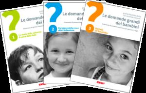 Le Domande grandi dei Bambini - le tre copertine